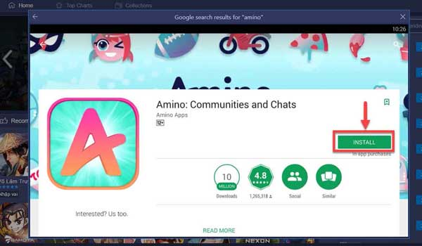 Amino For PC