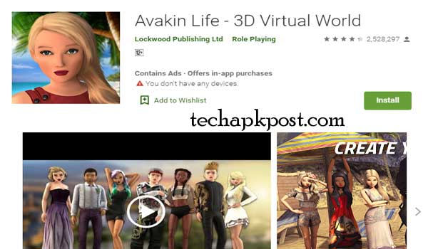 Avakin Life For Download