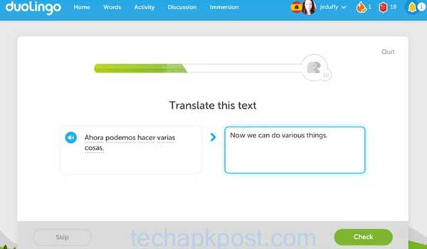 Download Duolingo For PC Windows