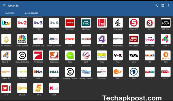 Features Of Iptv player latino para