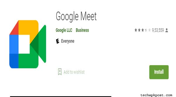 Google Meet Download For PC